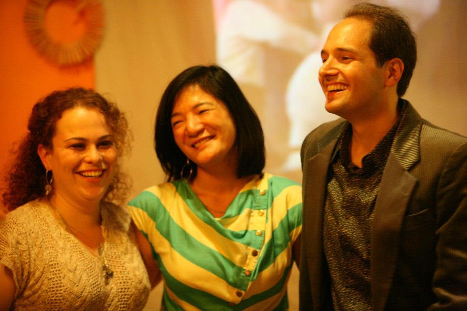 Our one and only Tango Challenge trio after a great graduation, Summer 2012