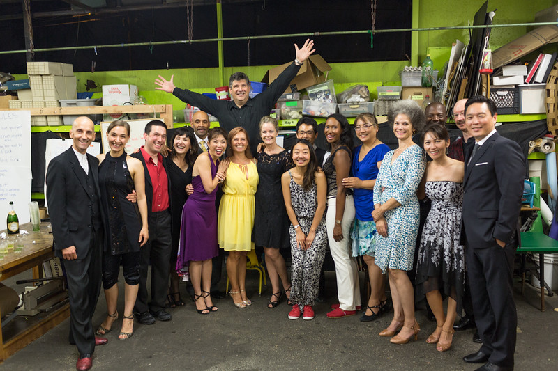 Big group of grads, partners and coaches after a great recital! Spring 2015