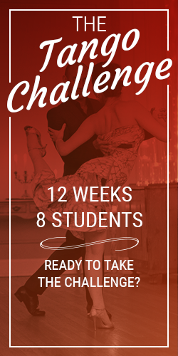 Ready to Jumpstart your Tango learning? Sign up for the 12-week Tango Challenge!