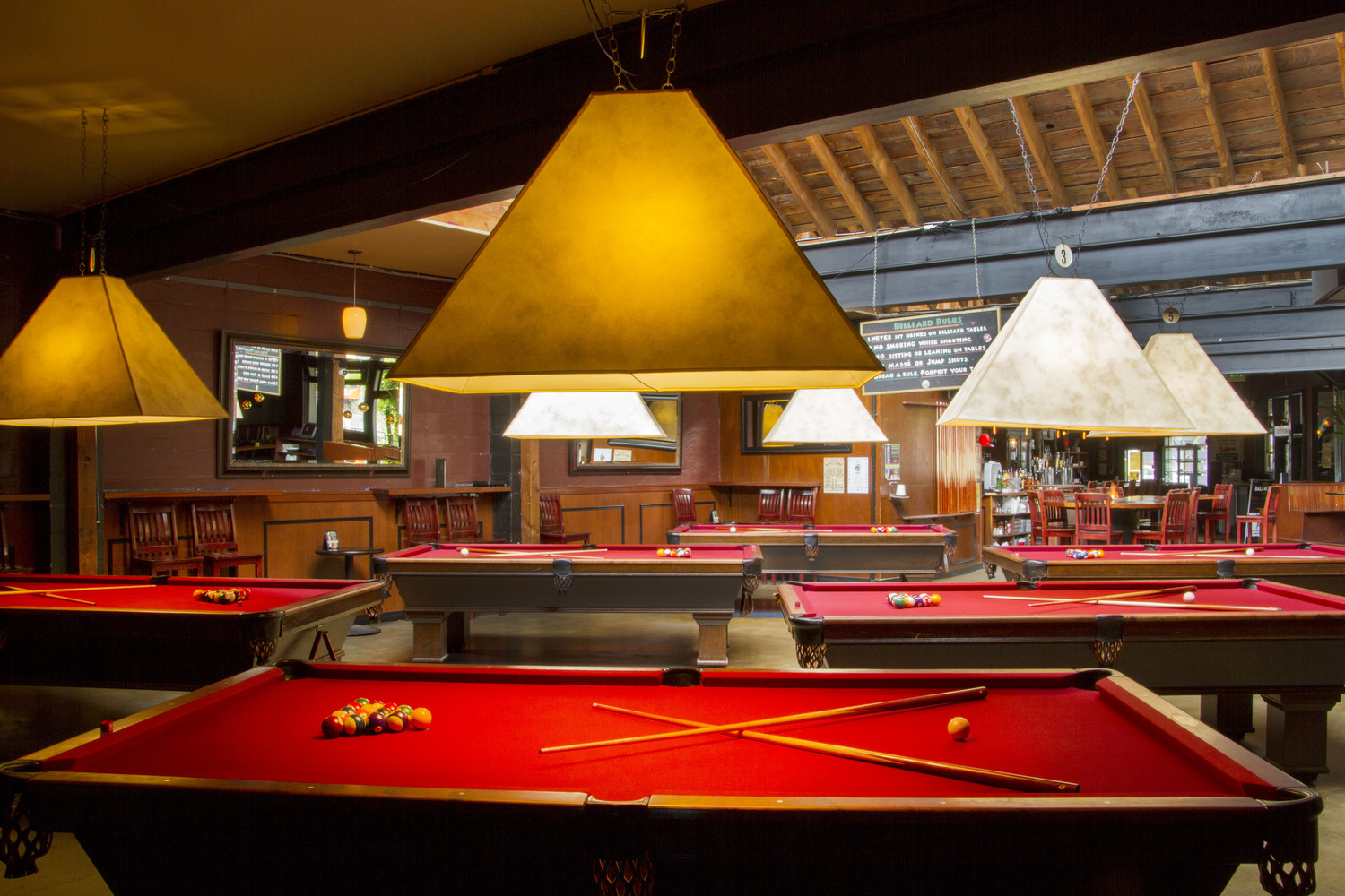 Ballroom Bar Pizza Pool And Dancing In Fremont Seattle - Pool table jack rental