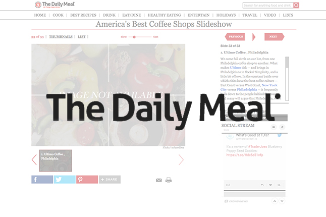 The Daily Meal // #1 Coffee Shop in the Country