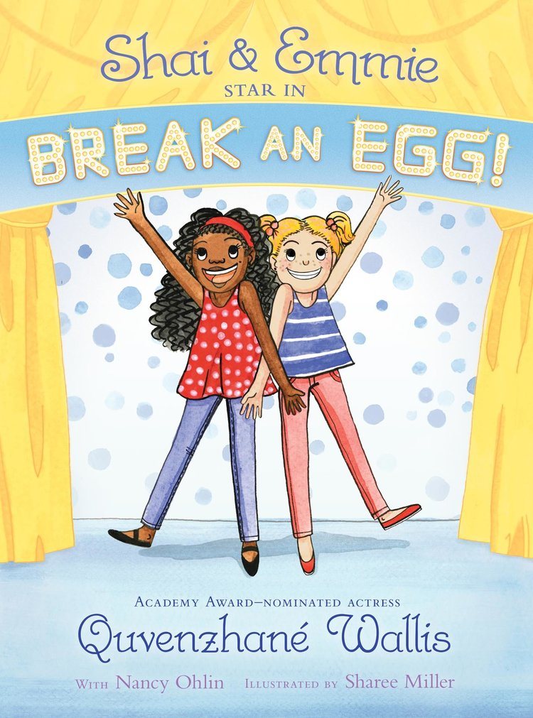 SHAI AND EMMIE STAR IN BREAK AN EGG!