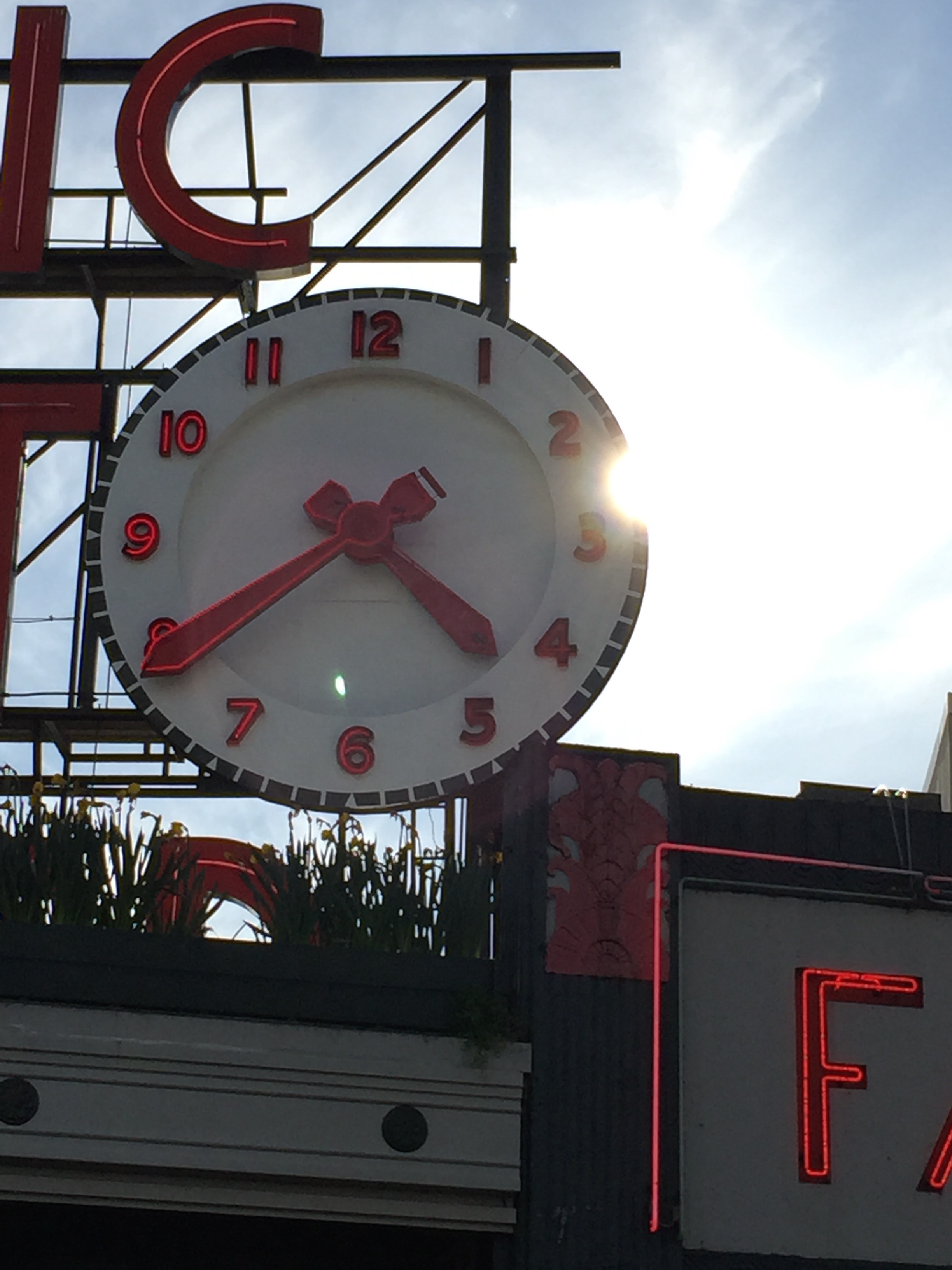 Pike Place Clock