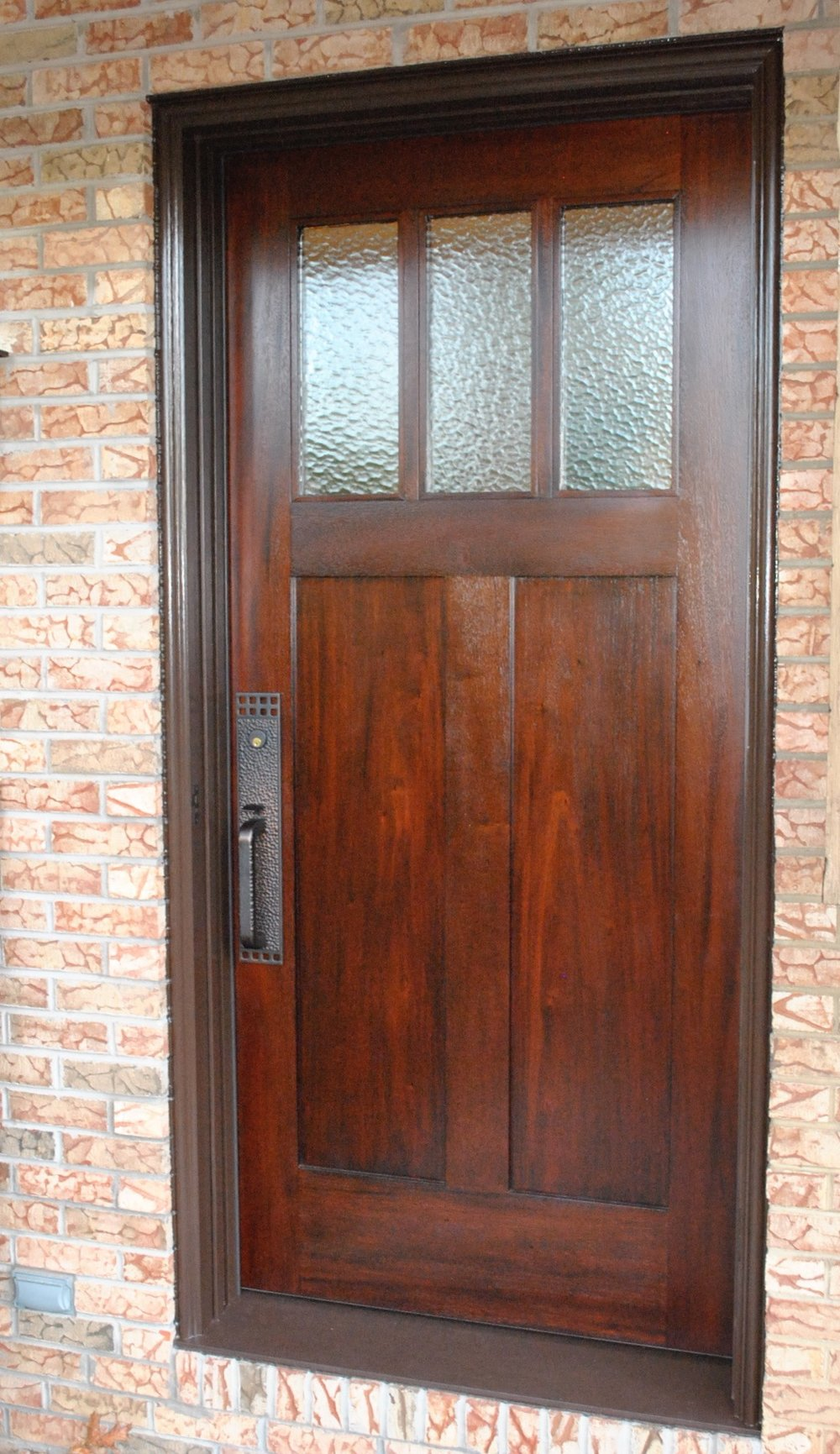 Stained mahogany with varnish finish. : door varnish - pezcame.com