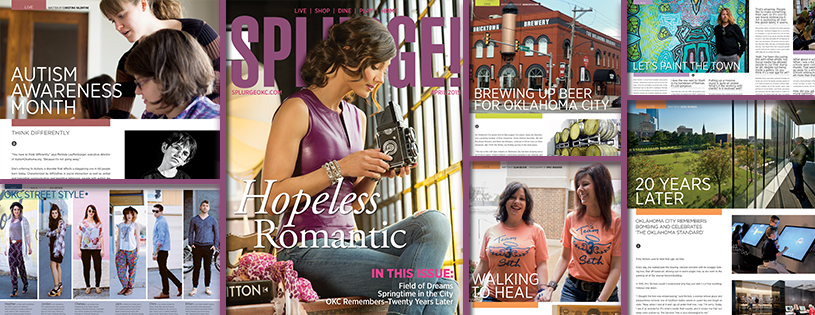 Splurge Magazine Cover and fashion spread... click  HERE  for the full issue! More info on this story is in the blog