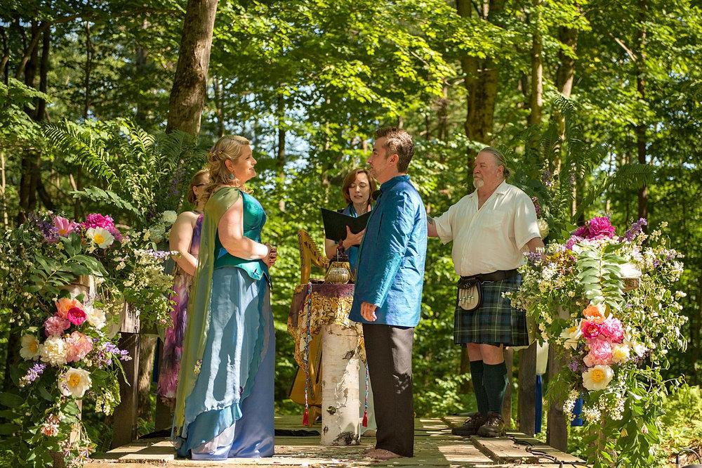 midsummer night\'s dream wedding — HYBL FANNIN DESIGN Vermont Wedding ...