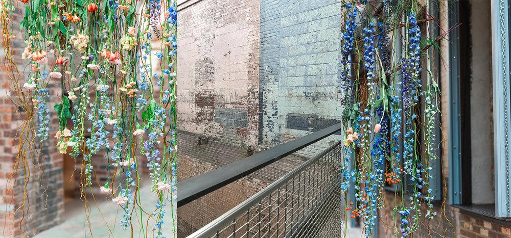 mass-moca-industrial-chic-wedding-ceremony-flower-curtain-hybl-fannin-design-color-study.jpg