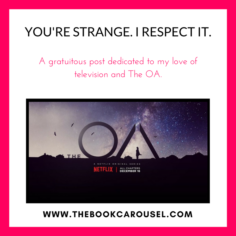 i respect it a gratuitous post dedicated to my love of television and the oa