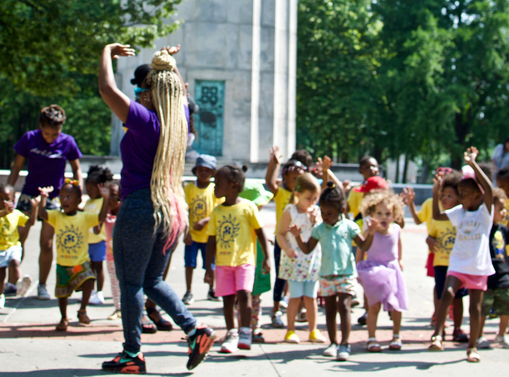 One performance workshop from our new program Dance and Music with Cumbe Kidz