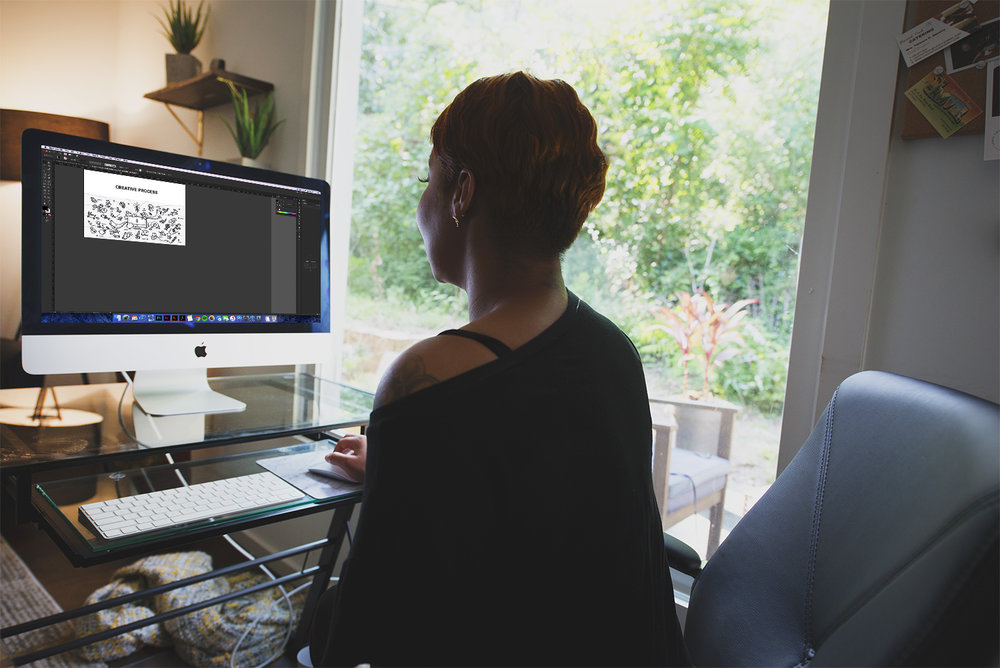 The Creative Process - Here is some insight on what it is like to work with me on a project!