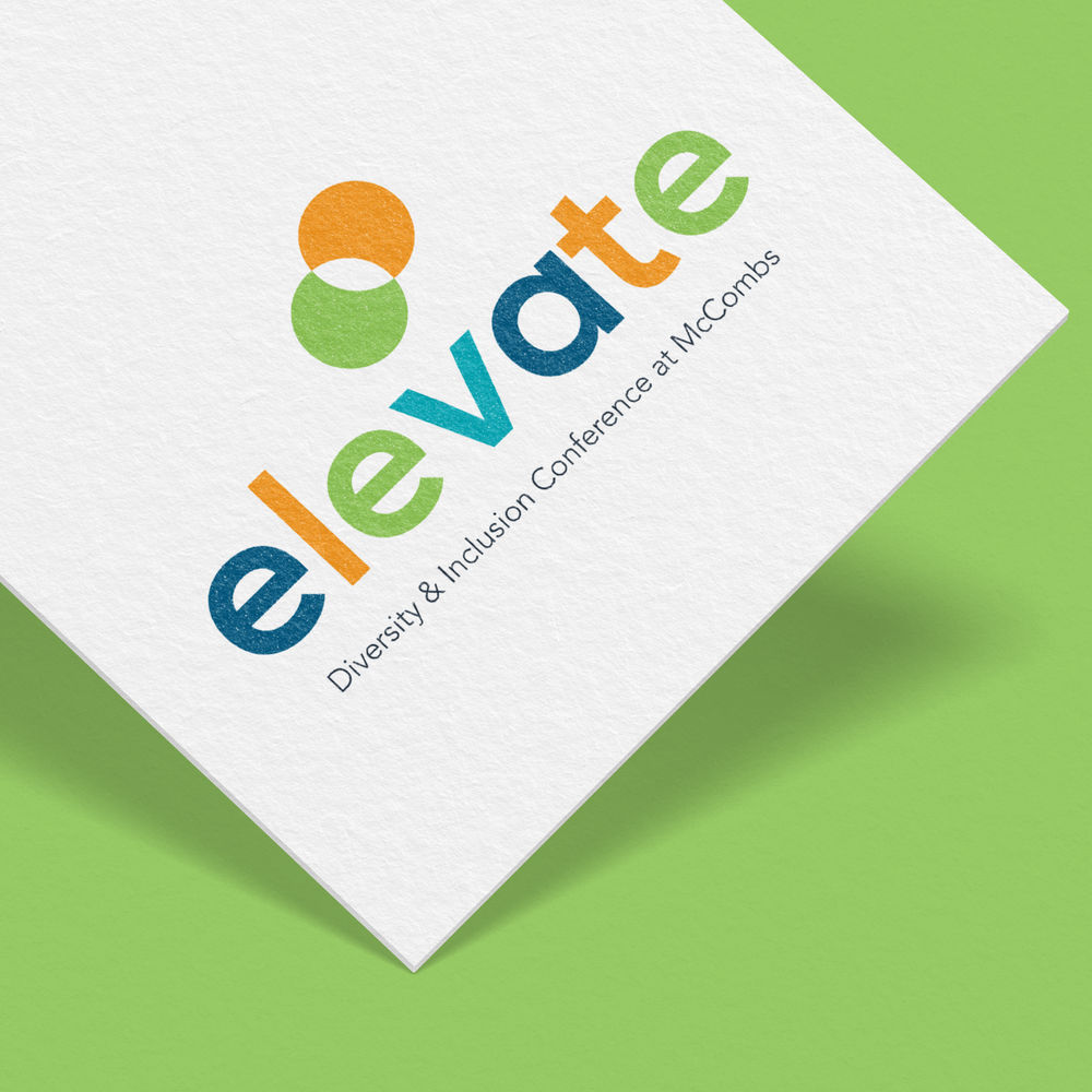 Elevate: Diversity and Inclusion logo, University of Texas, McCombs School of Business