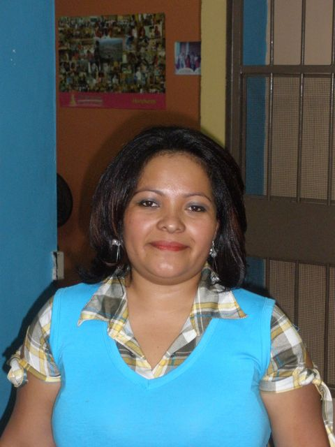 Emelina recently came for a visit to the Mi Esperanza center. 11-2010
