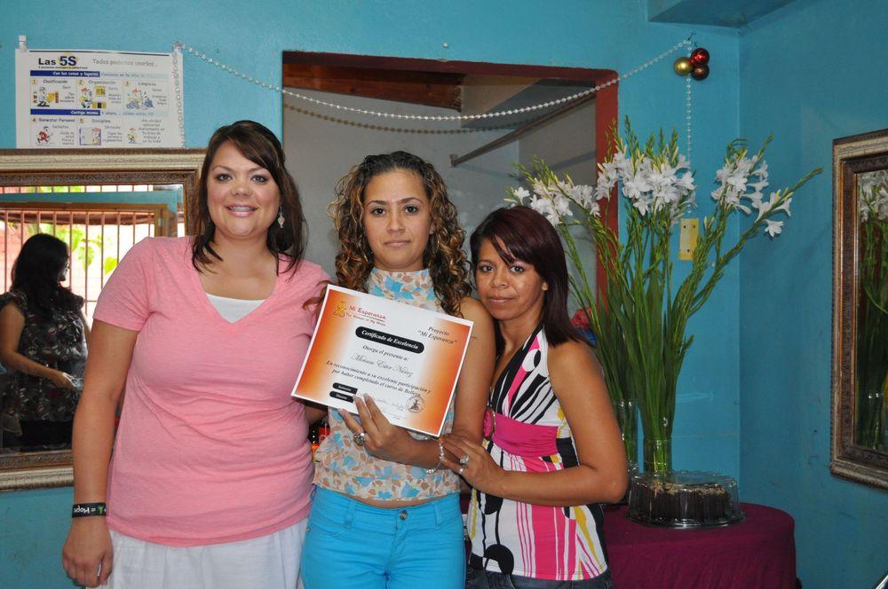 Graduation at Mi Esperanza