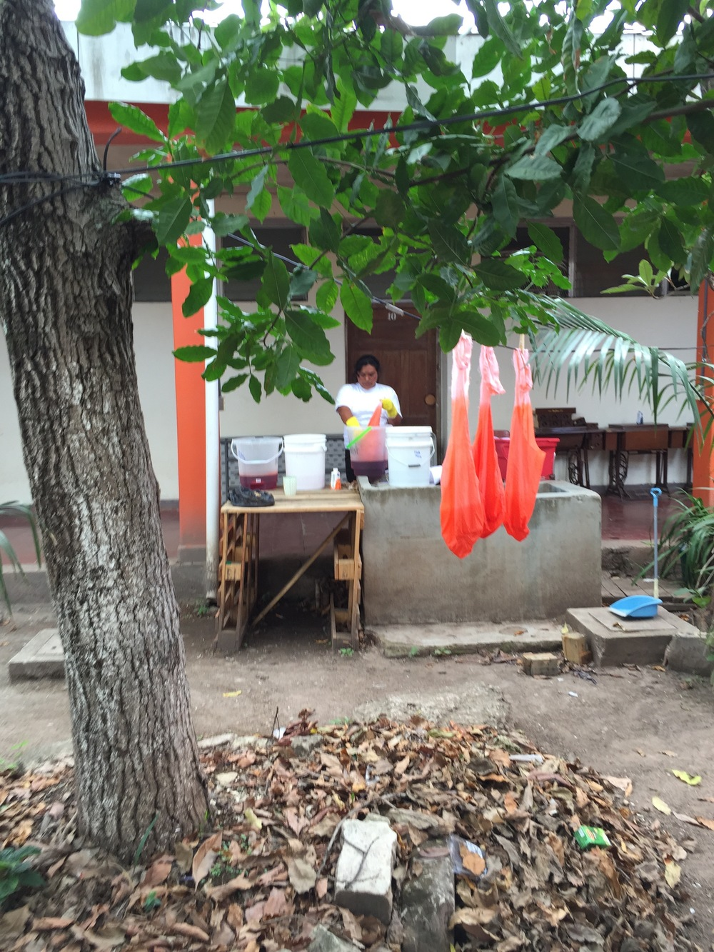 2015 Ombre dyeing Mi Esperanza signature Gypsy bag