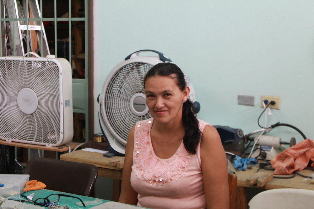 Maria Corrales, Jewelry Artisan