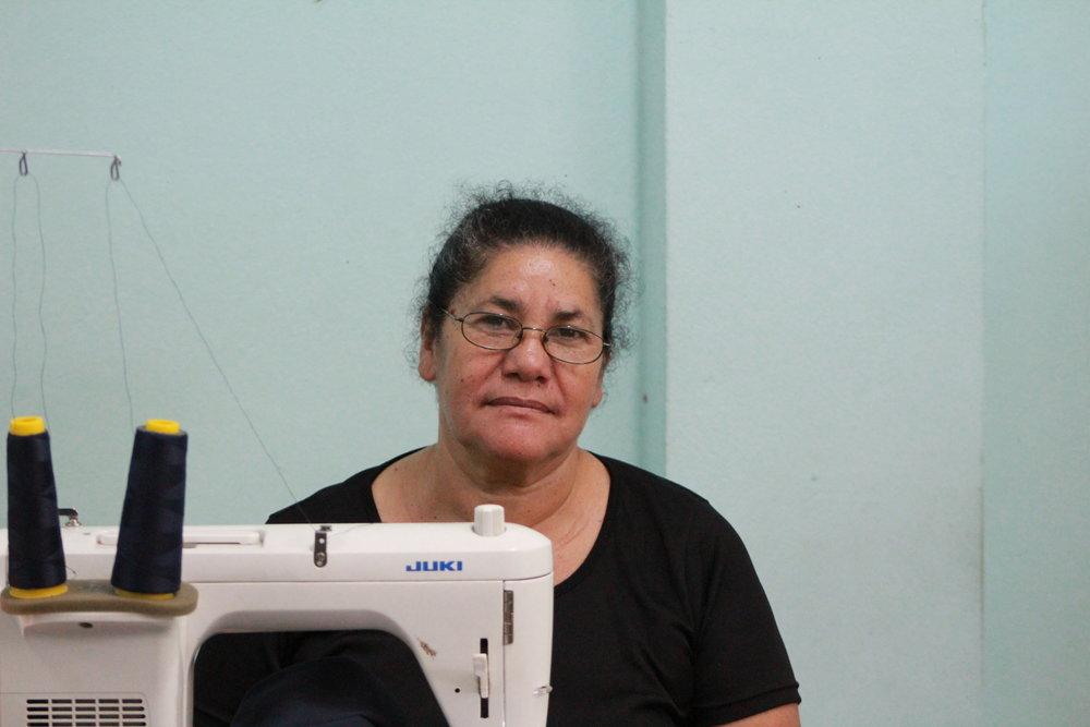 Sara Zepeda, Sewing Artisan