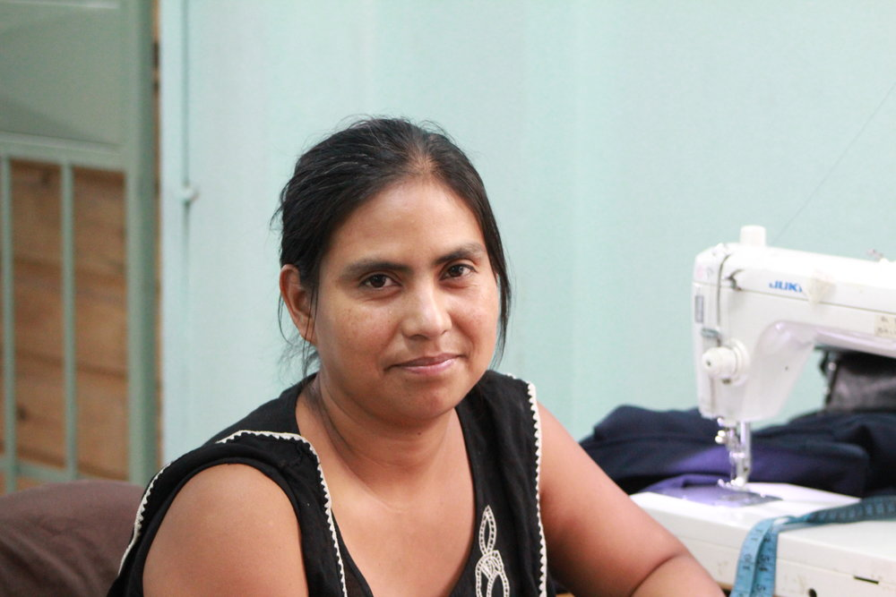 Anna Gonzales, Sewing Artisan