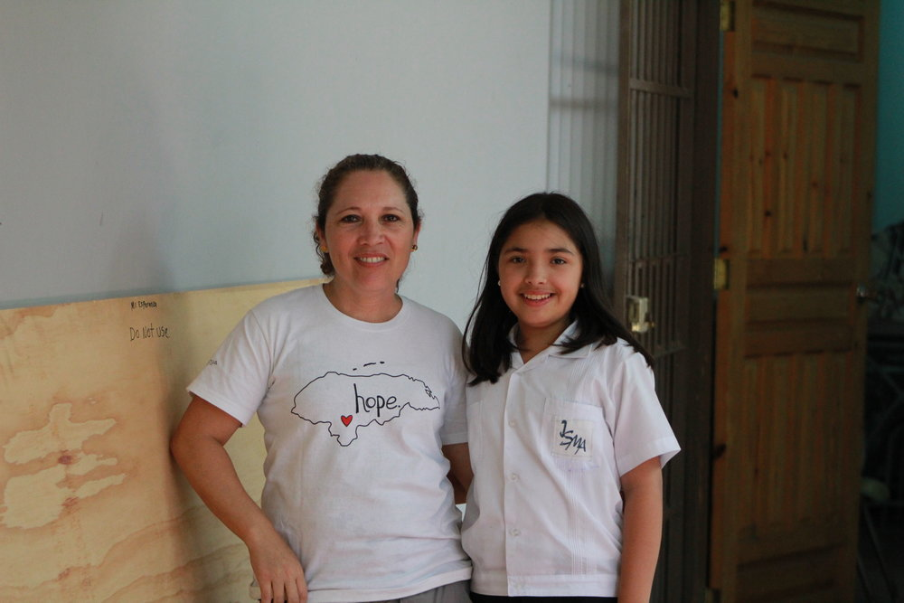 Aracely and Ximena. Aracely's job at Mi Esperanza provides a bi-lingual education for her daughter.