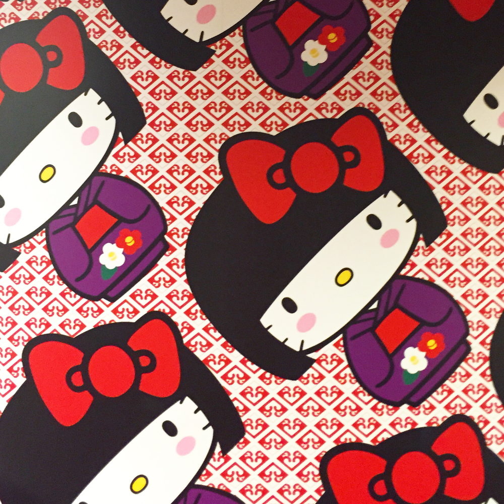 Hello Kitty 40th Anniversary Pattern