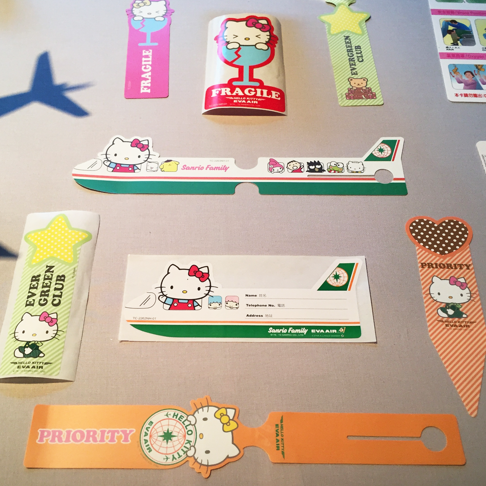 Fly with Hello Kitty on Eva Air