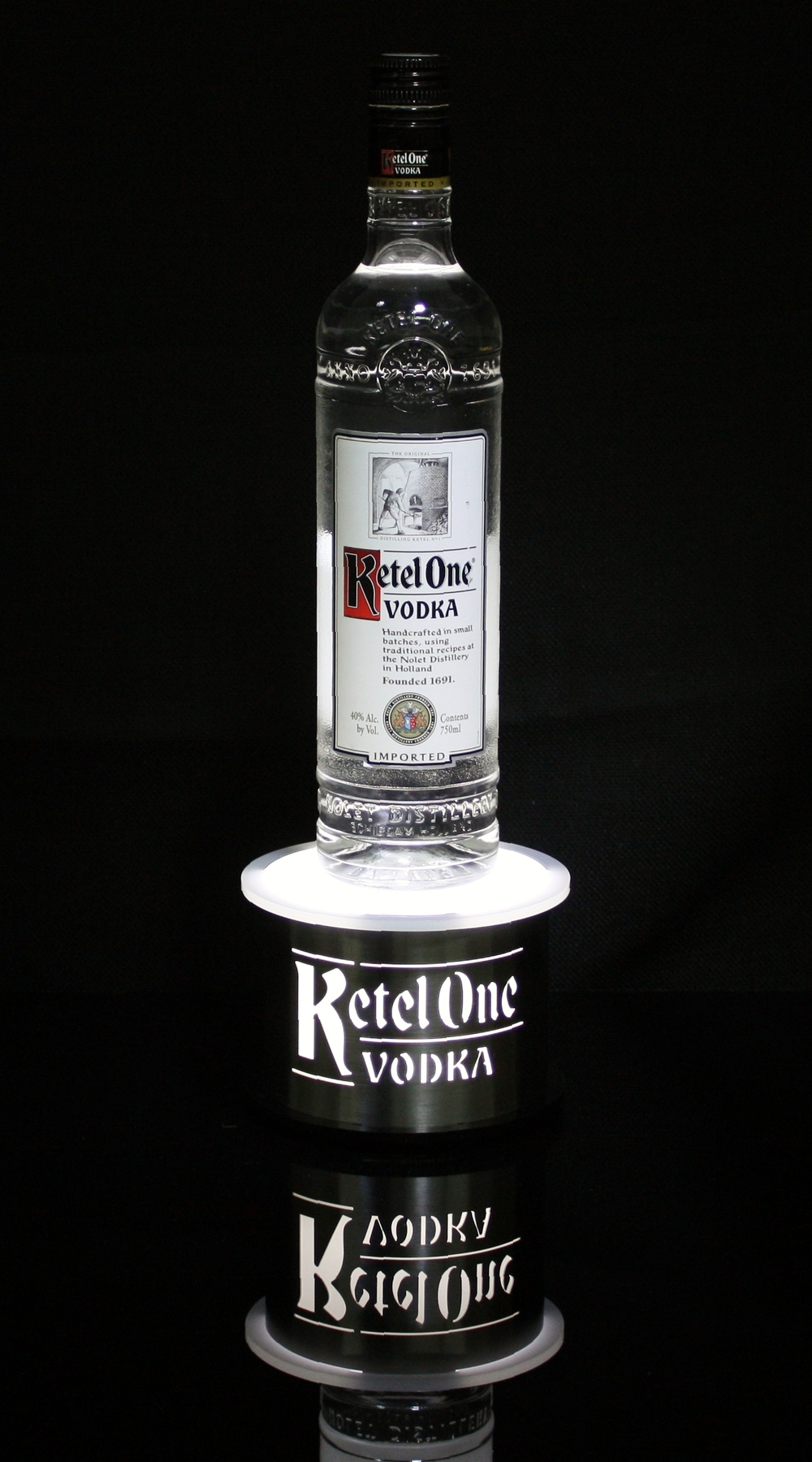 Ketel One Bottle Glorifier Round Stainless Steel.jpg