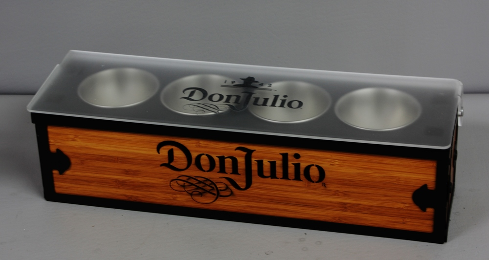 Don Julio Condiment Tray Steel n Wood.JPG