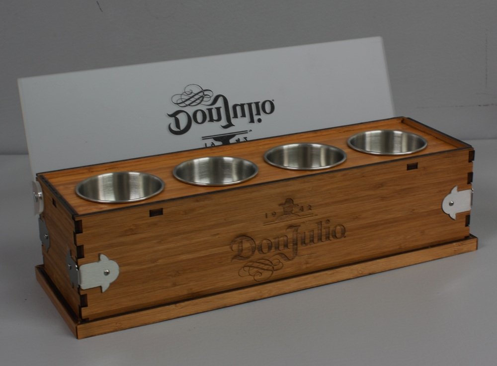 Don Julio Condiment Tray Wood Open 2.JPG