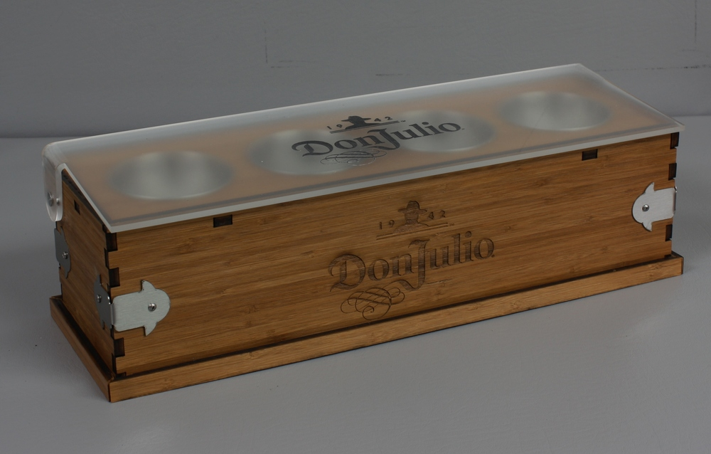 Don Julio Condiment Tray Wood Closed 2.JPG