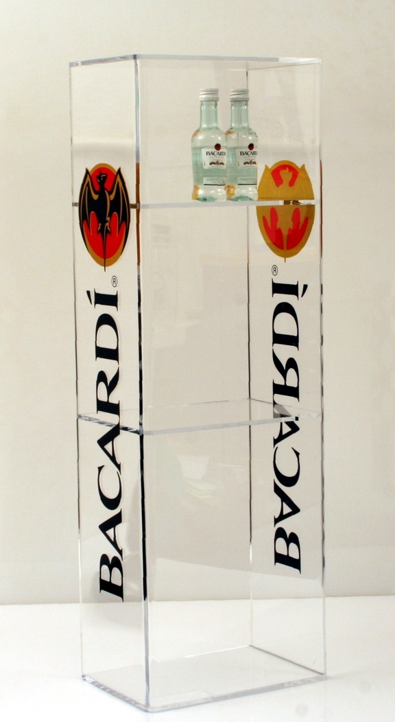 Bacaradi 3Level POS Display Acrylic.jpg