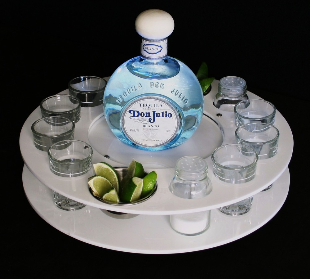 Don Julio BS Shot Spinner White Acrylic.JPG