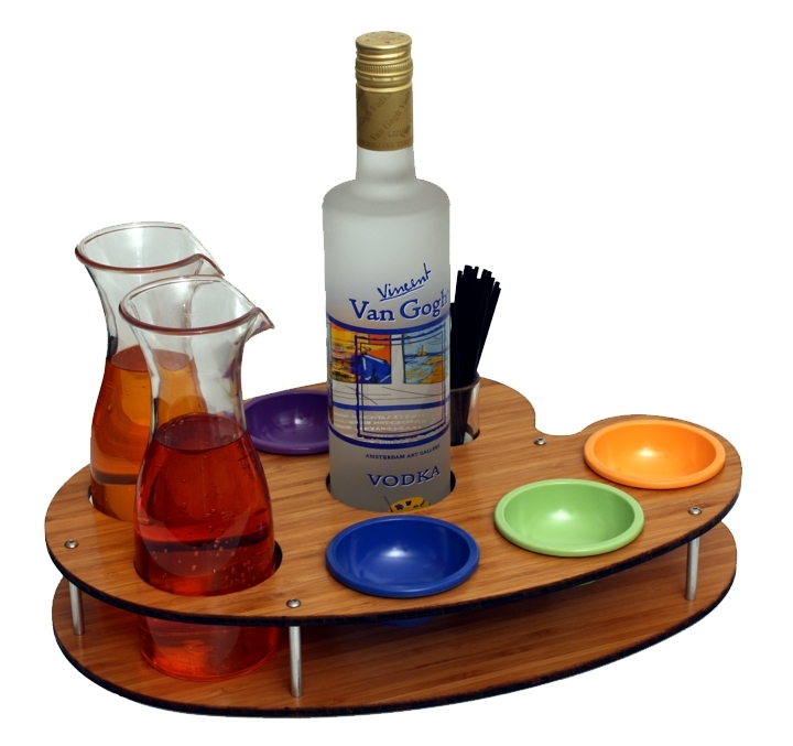Van Gogh BS Pallet Tray 2C Wood Bamboo w colored cups.jpg