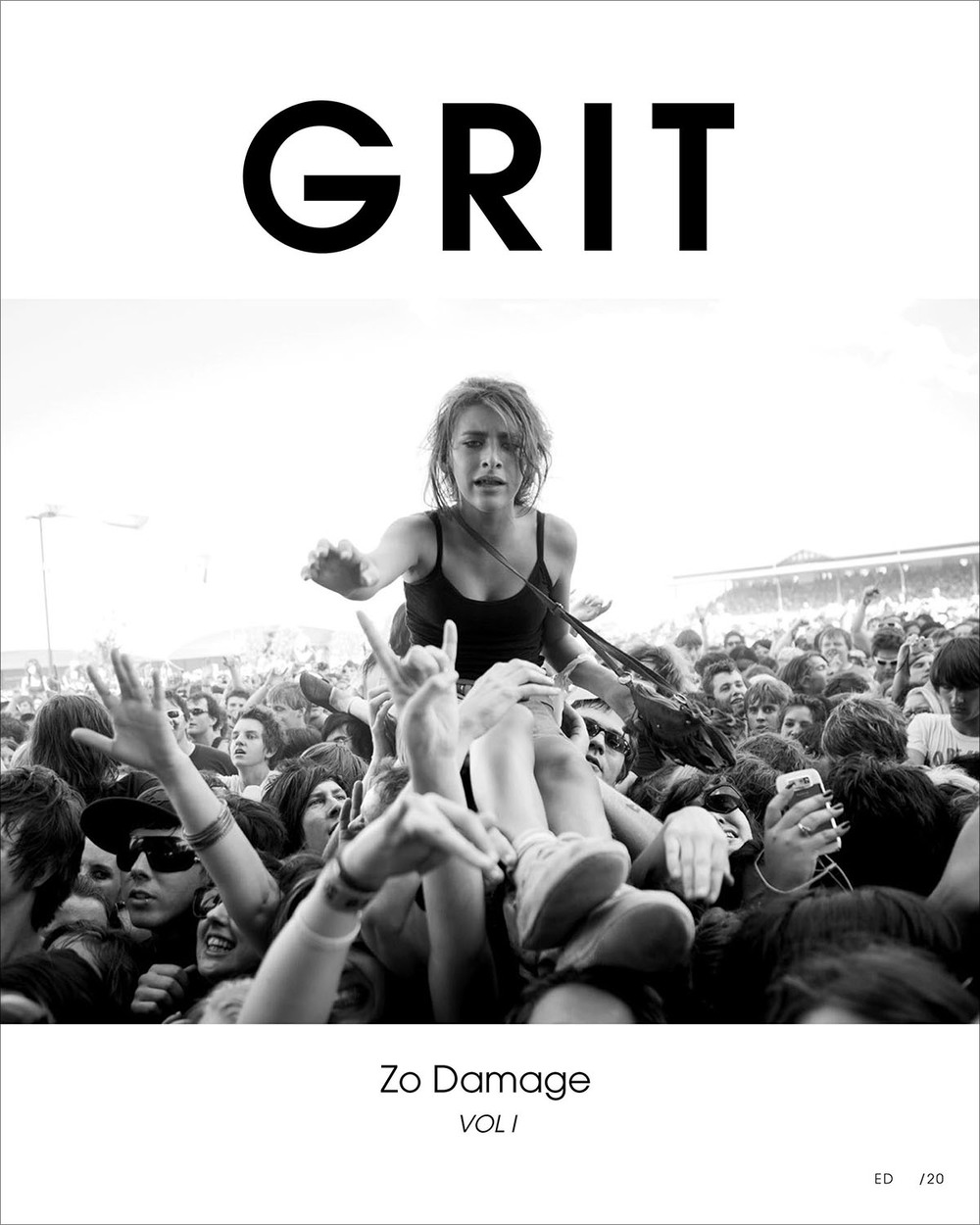 GRIT – Zo damage Vol I Front Cover