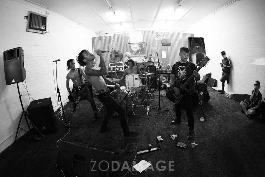 13 March 2016 - Day 18/365 - Indonesian grind/hardcore four piece KuasaHangus play The Wetlands in Brunswick. – Zo Damage 365 day live music photography project. View project  HERE . Order prints  HERE .