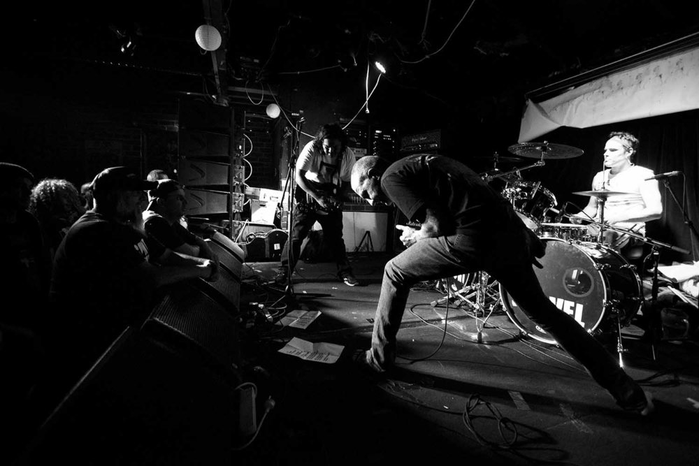 "Christ Crusher Blunt Shovel ""Get In The Ground"" album launch, 18 February 2017, The Tote  Day 360/366, Zo Damage 365 Day Project"
