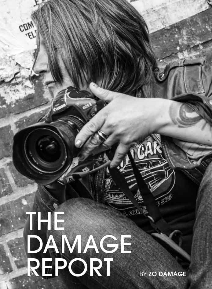 The Damage Report cover photo © Ian Ritter