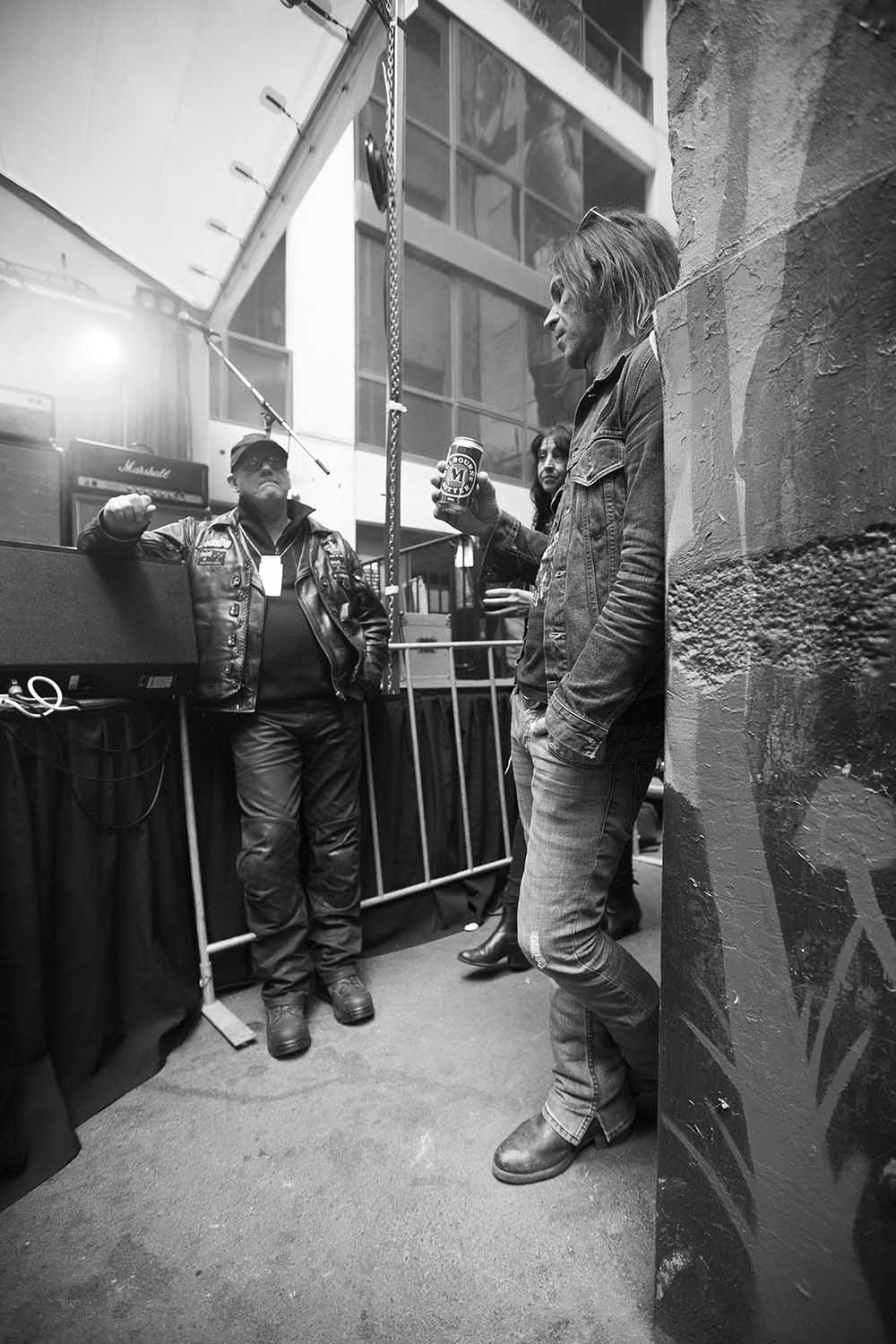 1 May 2016 – Day 67/366 – Side of stage at CherryRock016, Cherry Bar/ACDC Lane Melbourne.