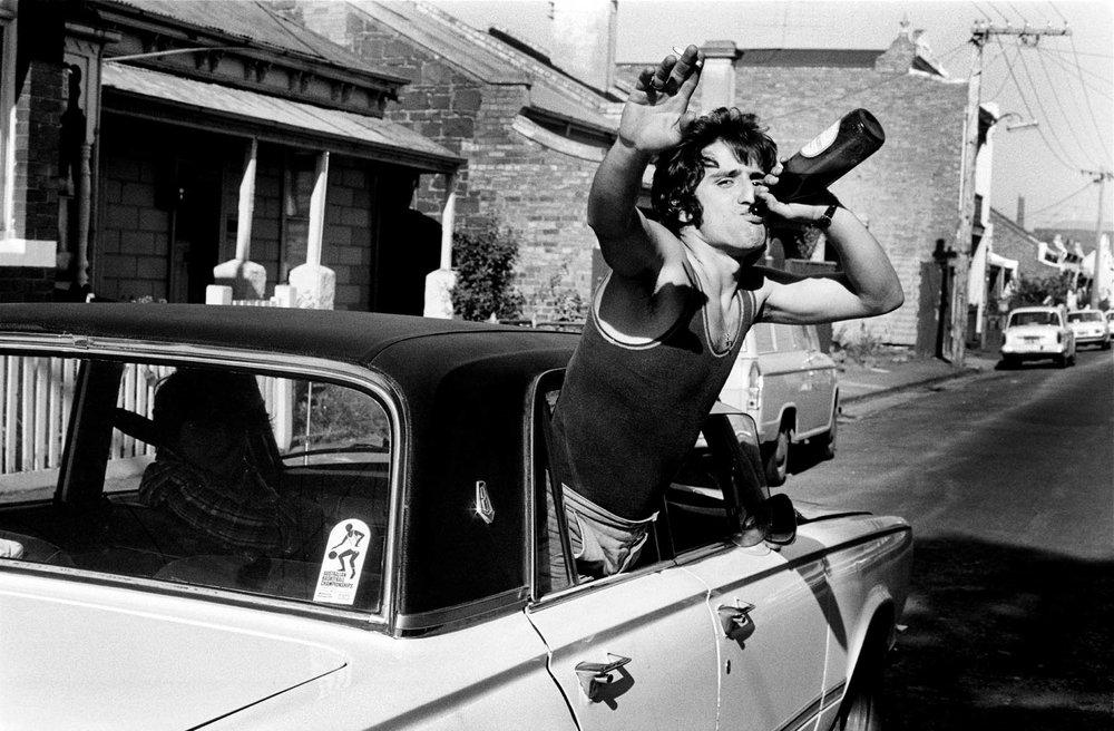 Fitzroy Extrovert 1974 © Rennie Ellis