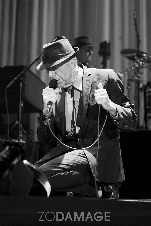 Leonard Cohen 2013 © Zo Damage