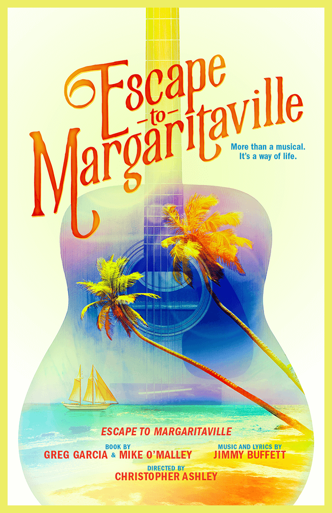 Key-art design, art direction and execution for the upcoming national touring and Broadway production of this Jimmy Buffett inspired musical.   Creative Direction: Vinny Sainato, Tom Callahan
