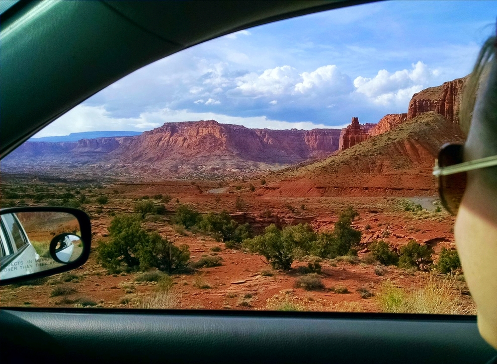 Leaving Capitol Reef