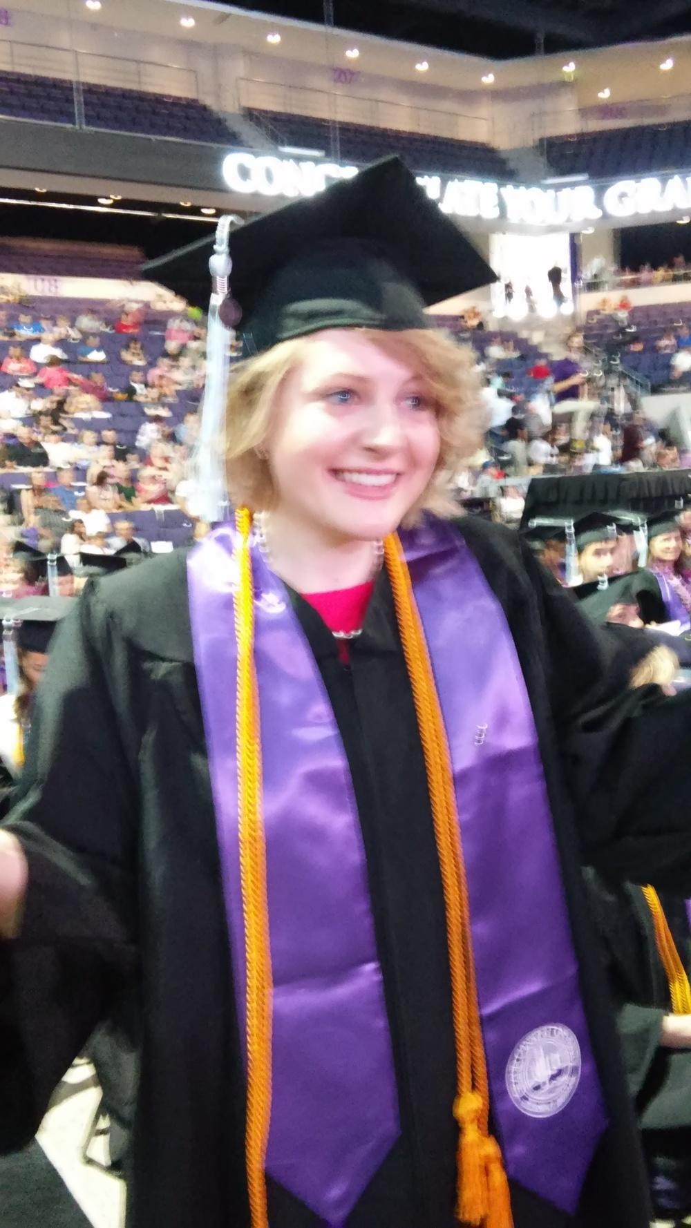 The Graduate!