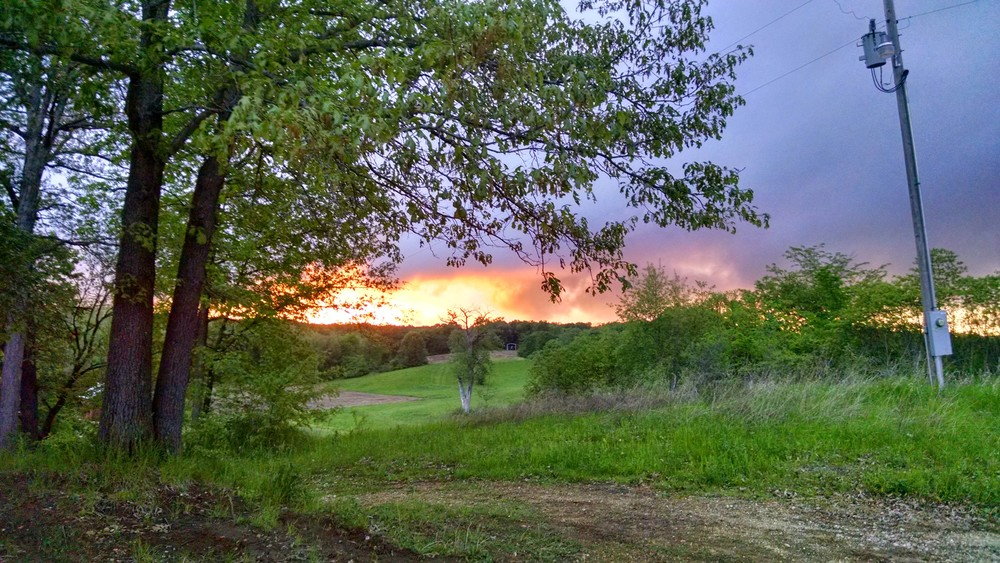 The beautiful sunsets and hill country did not help our growing home-sickness.