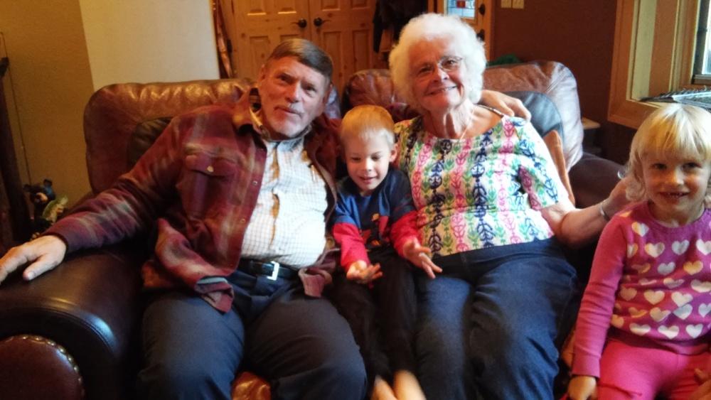 Grandpa and Grandma Perik!