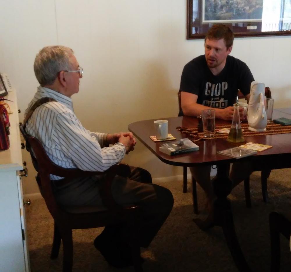 Talking with Grandpa