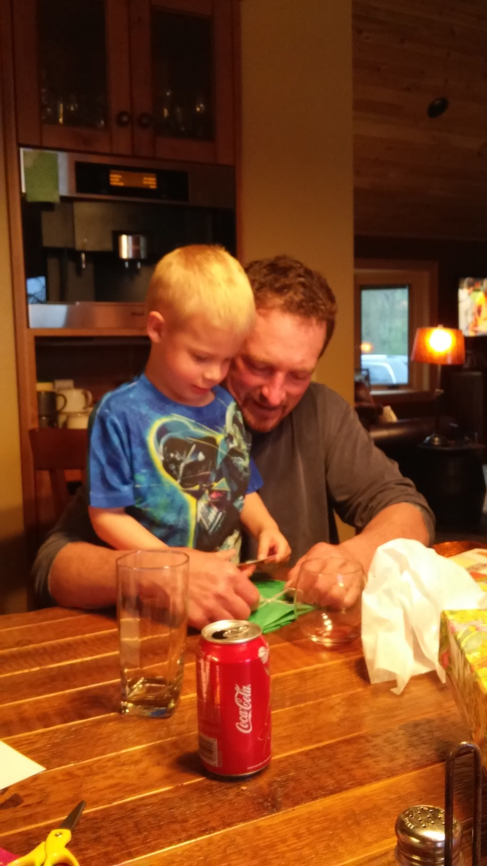 Ewan & Grandpa