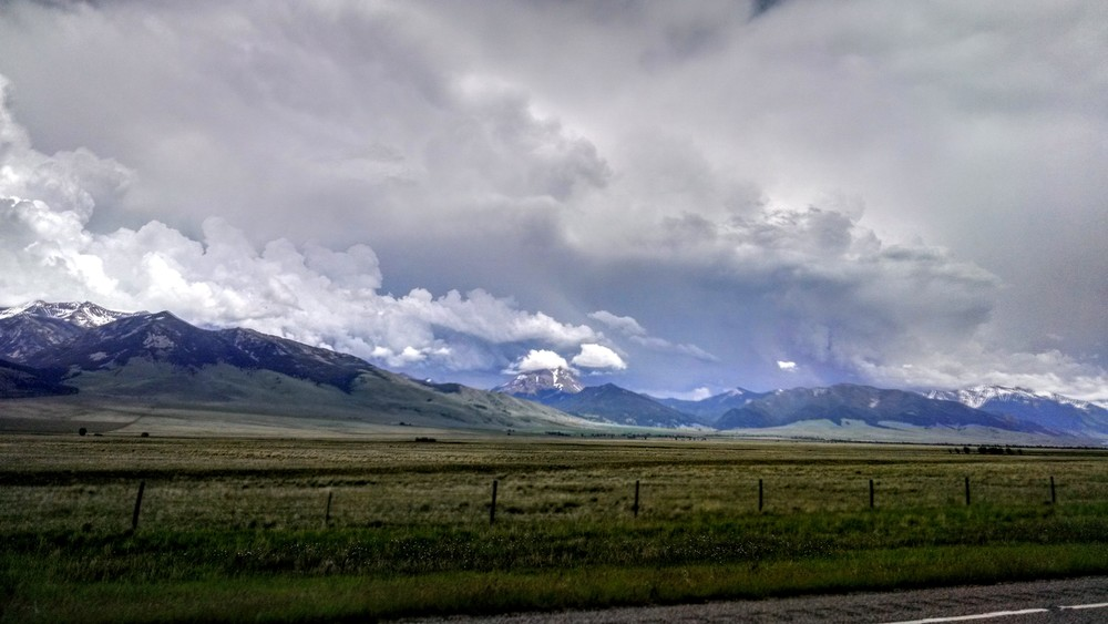 As warm weather came in unseasonably early, snow evaporated into clouds at an alarming rate - setting us up for the worst fire season in recorded history.