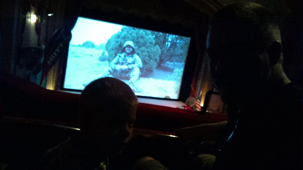 Ewan loves hunting films.