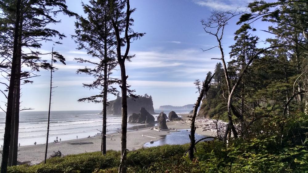 Ruby beach is  stunning.