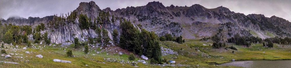 Beehive Basin - an epic camping location.