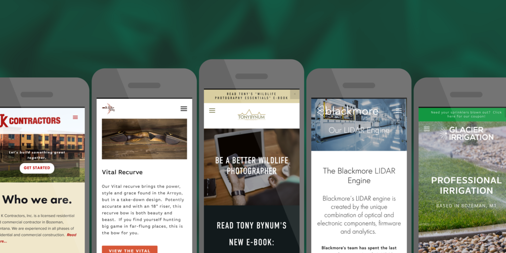 Is your website easy to read and use on a mobile device?